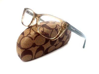 New COACH Frames Acetate Cat Eye Designer Rx Eyeglasses HC6048 Georgie 5184 51mm