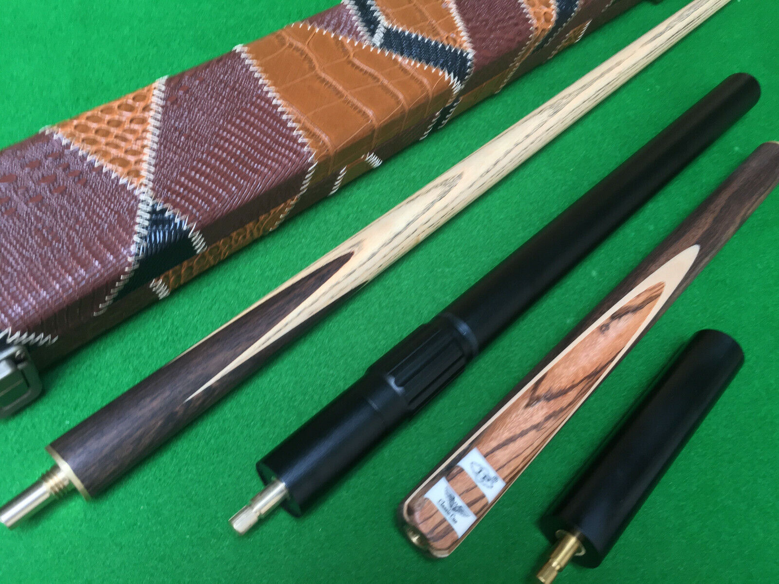 LP 3/4 Handmade Ash and  Rosewood Snooker Cue Set