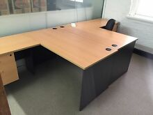 Office furniture - desks, turn tables, cabinet, cabinets , chairs Woolloomooloo Inner Sydney Preview