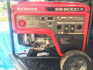 Honda Generator EB5000x with warranty - 120v and 240v