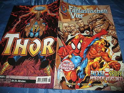 1221 : Die Fantastischen Vier , # 8 , Marvel Comic Serie ab 2000 , Kult Comics (Fantastische Vier 8)