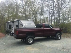 2001 Ram 2500 Cummins & 2017 Coachmen Catalina SBX 231rb