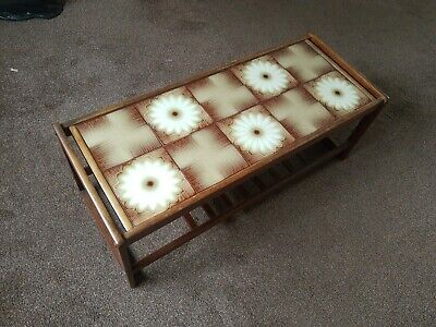 Retro Teak coffee table possible local delivery from Peterlee