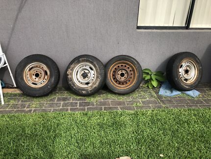 Hilux wheels Brownsville Wollongong Area Preview
