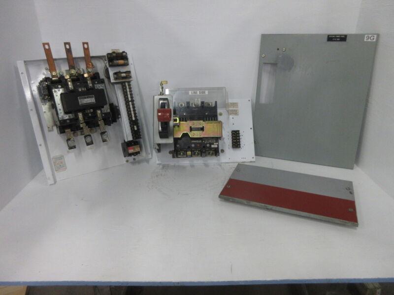 """General Electric GE 8000 Size 5 Contactor 300 Amp Breaker Type 36"""" MCC Bucket"""