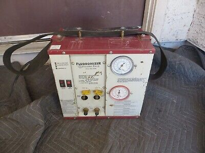 Fluoro Tech Fluoromizer Commercial Refrigerant Recovery Unit Model 6000