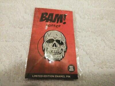 Bam Box Horror Halloween III: Season Of The Witch Skull Enamel Pin Limited 250