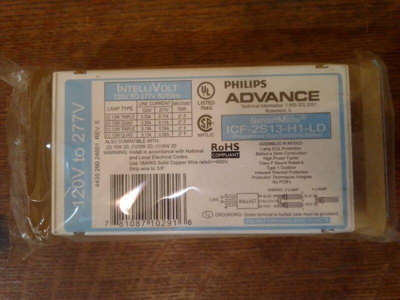 Phillips ADVANCE SmartMate Ballast Kit ICF-2S13-H1-LD  120-277V