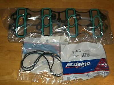 Engine Intake Manifold Gasket Set ACDelco GM OE 89060413 & 2-Valve Cover Gaskets