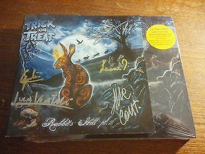 Autographed Signed Trick Or Treat Rabbits Hill Pt 2 Cd Helloween Gamma Ray