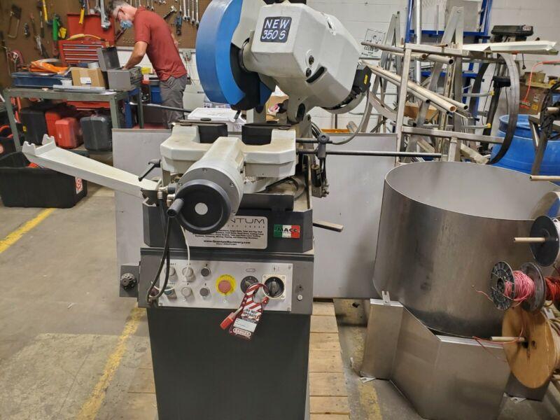 Quantum Semi-Automatic New 350s Cold Saw