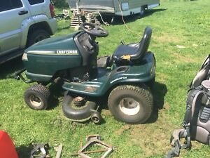 Craftsman lawn tractor mower