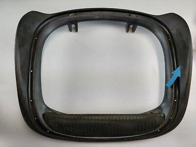 Herman Miller Aeron Chair Seat Pan Size B Damaged Cracked Graphite Color 3