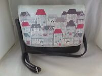 Nwtd Disaster Designs Home Satchel Home Range Non-leather Great Deal - disaster designs - ebay.com