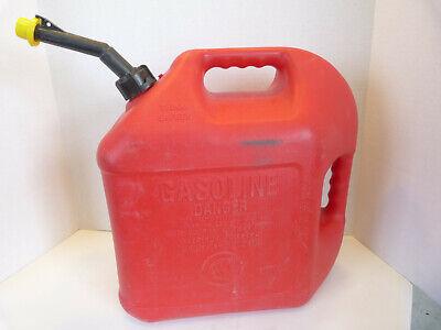Blitz 5 Gallon Pre Ban Gas Can W Self Venting Spout 2 Handles 50833 Made In Usa