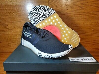 🔥 Adidas NMD_RACER PK Size 11 Black White Boost Pink BB7041 New Retail $270! 🔥
