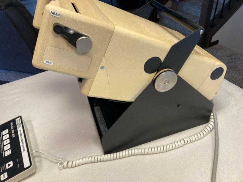 Titmus 2n Vision Screener Optometry Optical Vision Eye Tester +Controller