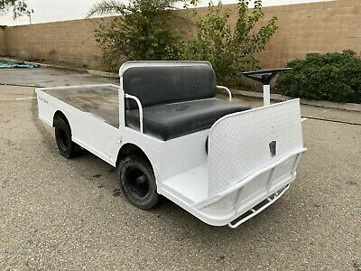 Taylor Dunn B2-48 Electric Industrial Flatbed Utility Golf Cart