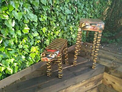 Large & Small Cat Table Coffee table BROWN GOLD TABLES CAT FAIR...