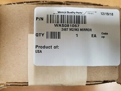 Waters Was081067 24878889 Uv Vis Acquity Tuv Detector M2m3 Mirror Hplc Gc