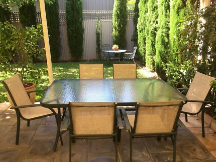 High Quality  Pce Outdoor Dining Setting In Excel T Condition