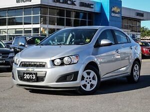2013 Chevrolet Sonic LOW KM, LS, A/C, 5-SPEED, BLUETOOTH