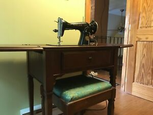 1940's era sewing machine