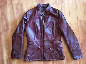 Women's Genuien Leather bikers jacket