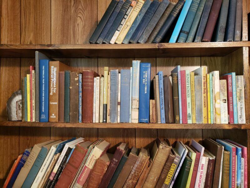 Huge Lot of 50 Vintage Nazarene Methodist Books for Preachers Library Christian