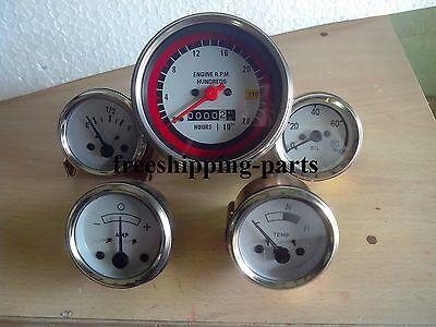 Oliver White 17501755185018551950195520502150 Gauge Tachometer Kit
