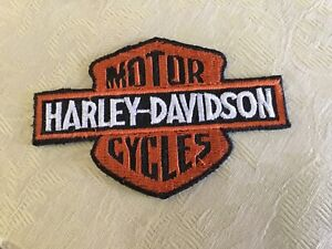Harley Davidson Motor Cycles sew on patch