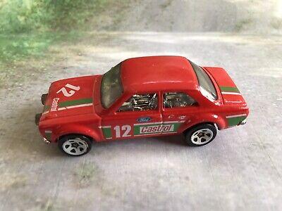 hot wheels Diecast 70 Ford Escort RS1600