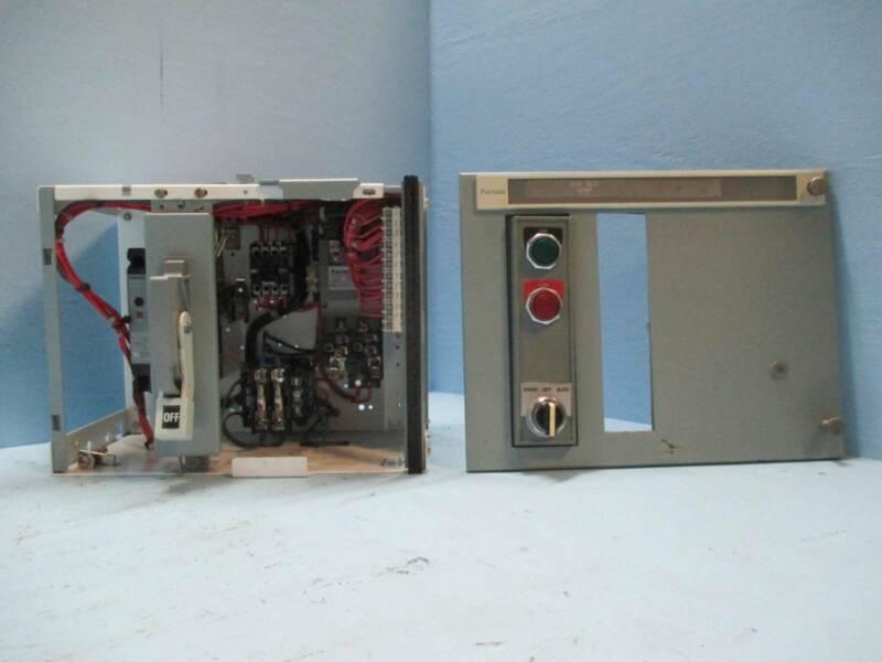 "Siemens Tiastar Furnas 89 Size 2 Starter 40 Amp ED Breaker 12"" MCC MCCB Bucket"