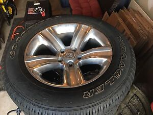 Ram 1500 Sport Factory Rims and Tires