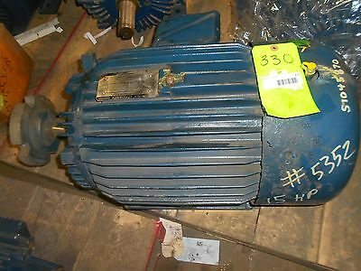 Toshiba Motor 15hp 260460 880rpm Ph3