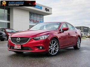 2014 Mazda Mazda6 GT/NAVI/LEATHER/BOSE