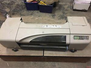 "HP designjet 24"" colour plotter"