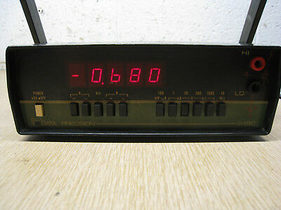 Used Data Precision Multimeter Model 2480 Free Shipping