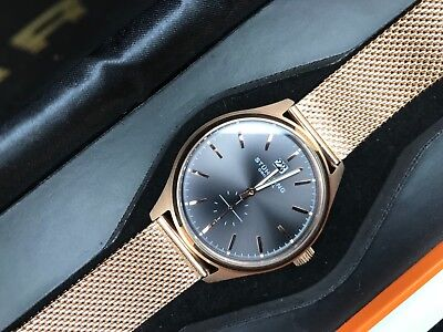 Stuhrling Original Men's Rose Gold Tone Watch