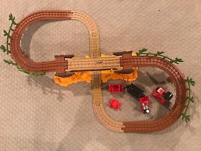 Fisher Price Geotrax Disney Pixar Toy Story 3 Exploding Bridge W/Train & Remote