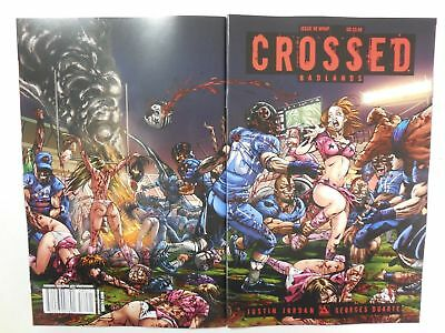 Sexy CHEERLEADER ATTACK Bloody Gore Fest VARIANT Cover ~ CROSSED # 58 Comic - Bloody Cheerleader