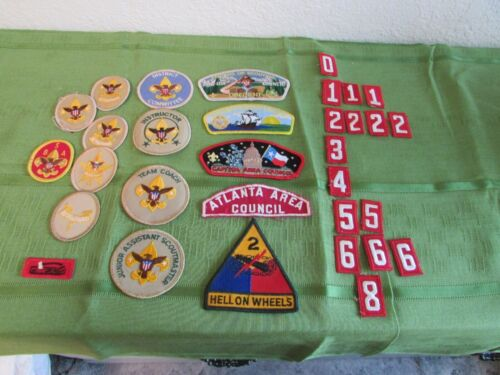Boy Scouts of America, Lot of 32, Patches, Awards, Emblems