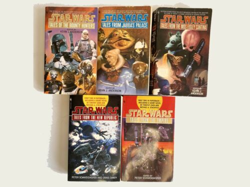 Star Wars Tales of Series - Lot of 5 Books - Complete and Original Bantam 95-99