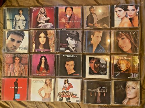 Lot of 20 LATIN / SPANISH MUSIC CDs - all in excellent condition - inc. Luis Fon