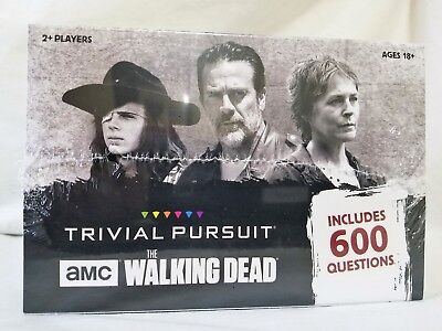 Trivial Pursuit: AMC The Walking Dead Edition Game, used for sale  Shipping to South Africa