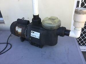 Pool Pump, Salt Chlorinator Cell and Sand Filter City Beach Cambridge Area Preview