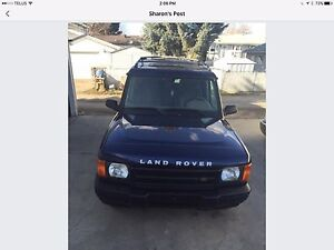 2001 Discovery Land Rover