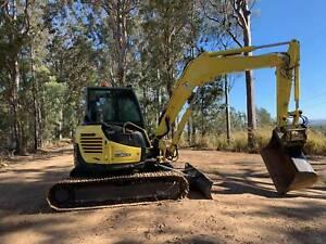 Excavator Yanmar VIO 80 Veteran Gympie Area Preview