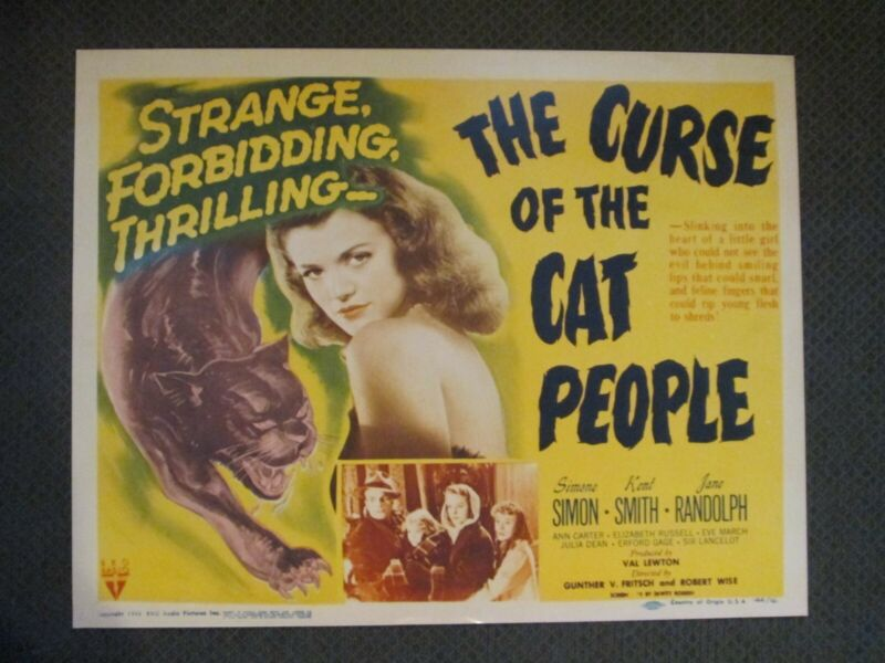 Curse Of The Cat People - Reproduction Movie Poster - Simon