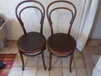 Pair of bentwood chairs Reservoir Darebin Area Preview
